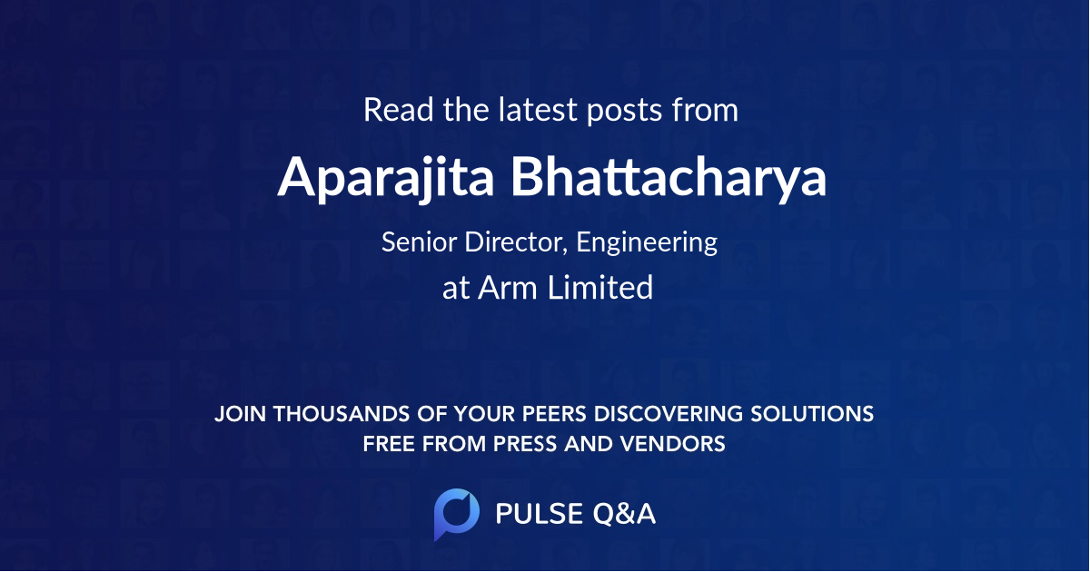 Aparajita Bhattacharya