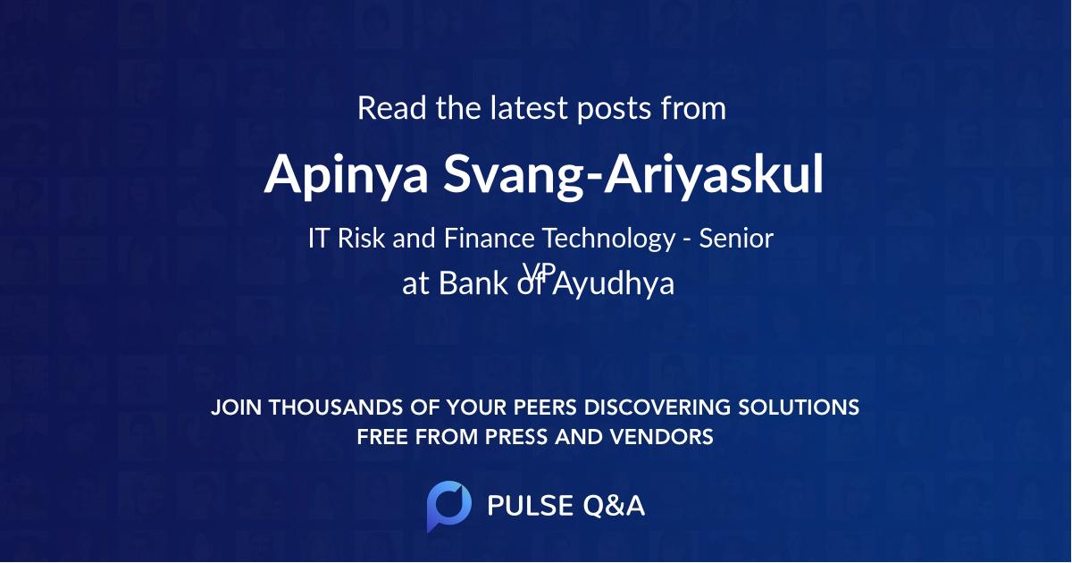 Apinya Svang-Ariyaskul