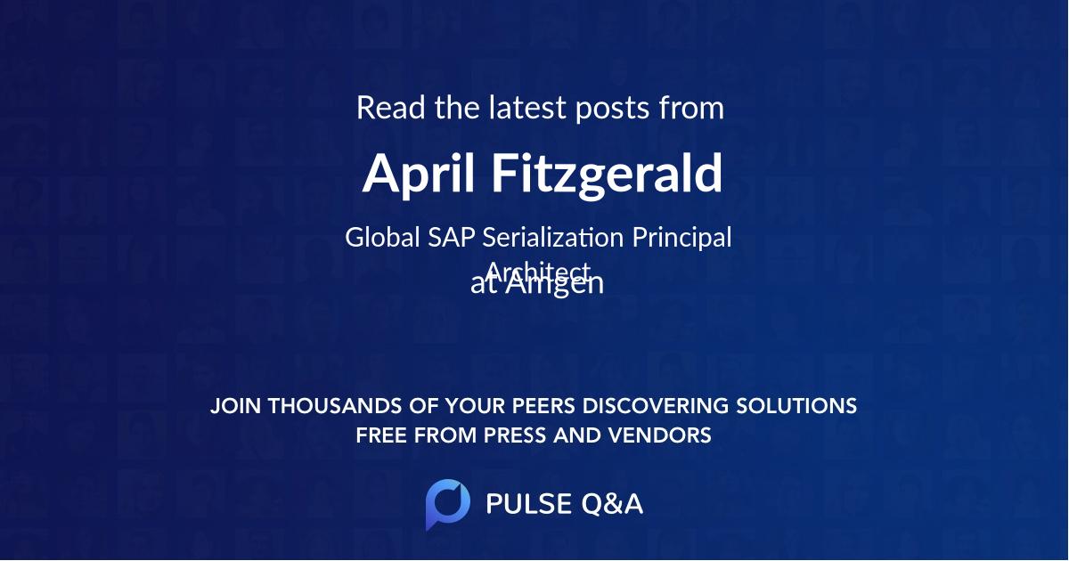 April Fitzgerald
