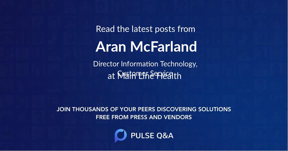 Aran McFarland