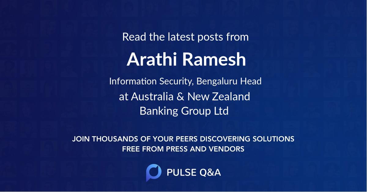 Arathi Ramesh