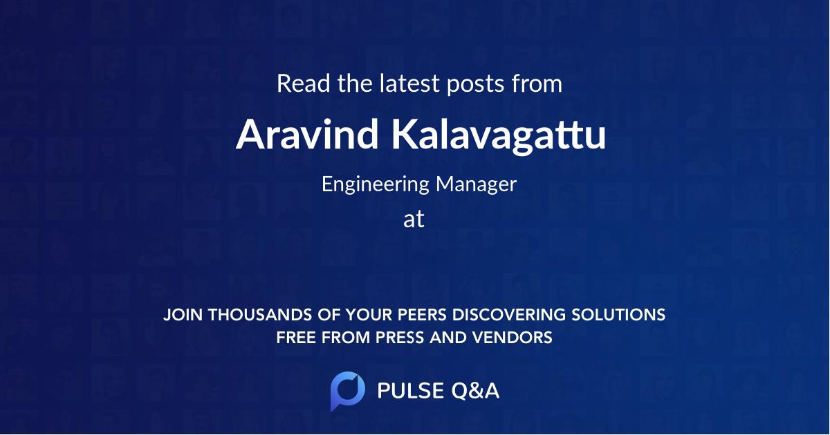 Aravind Kalavagattu