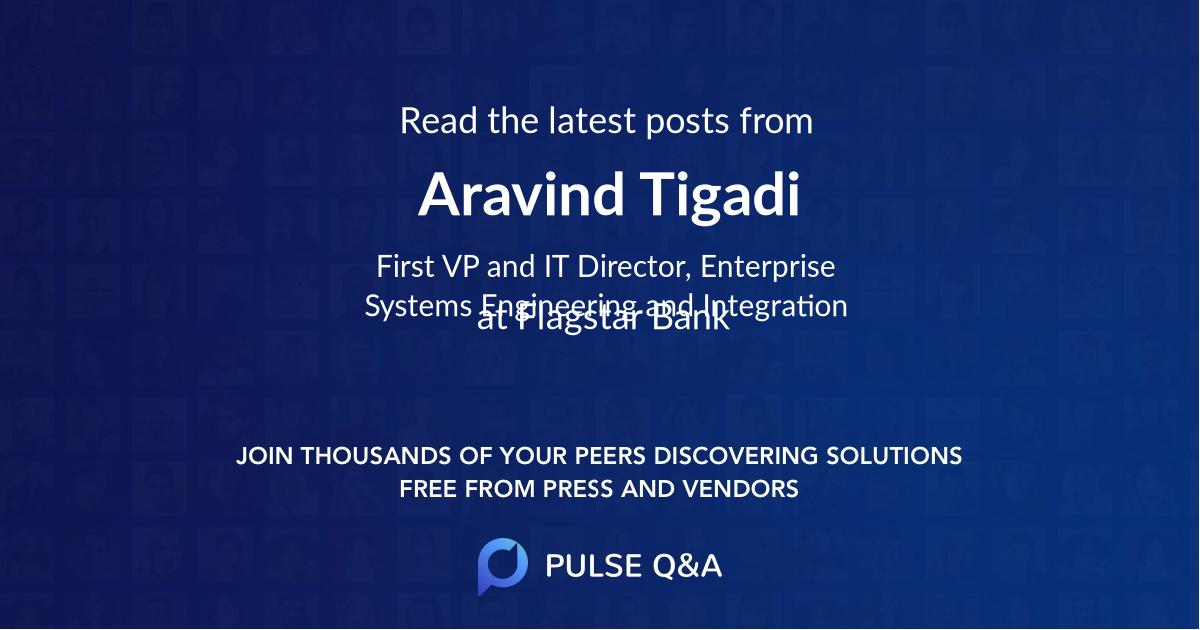 Aravind Tigadi