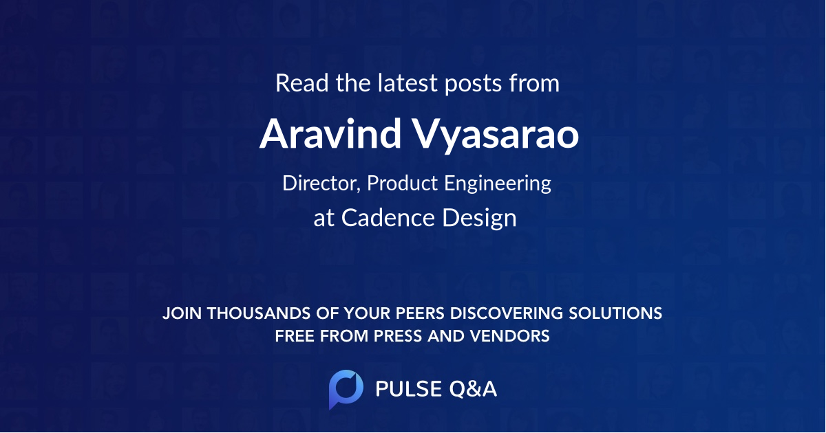 Aravind Vyasarao