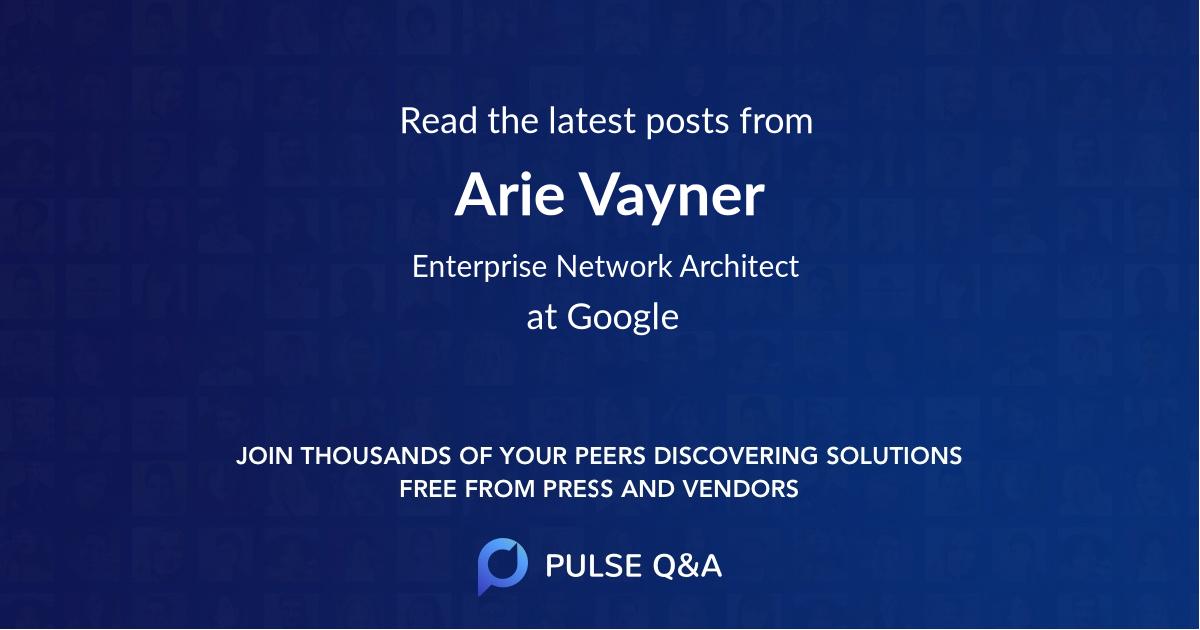 Arie Vayner