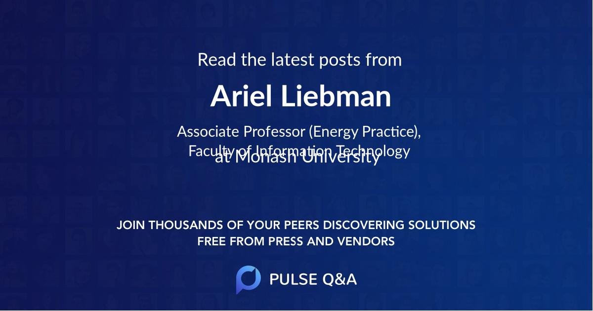Ariel Liebman
