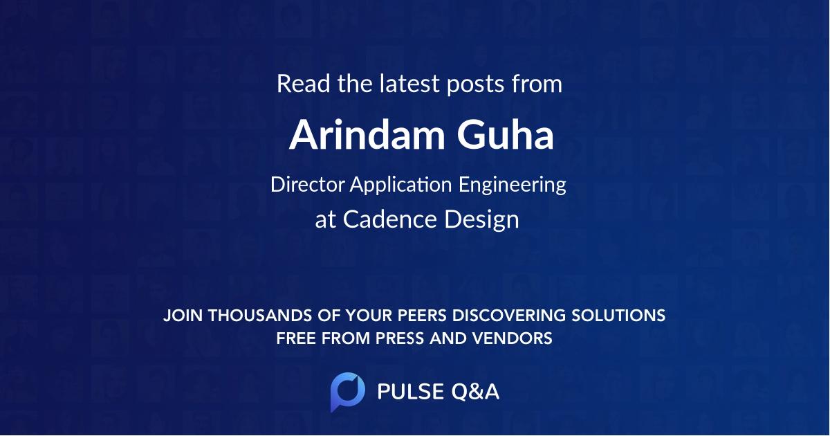 Arindam Guha