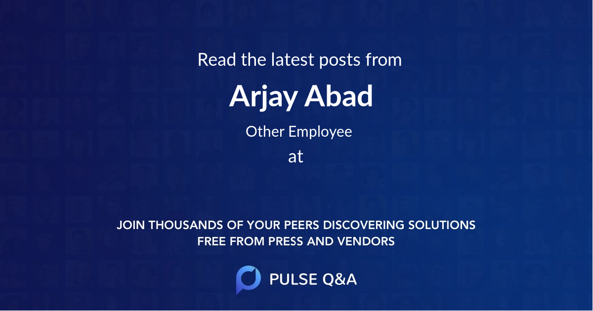 Arjay Abad