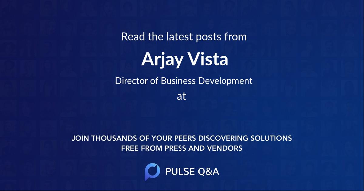 Arjay Vista