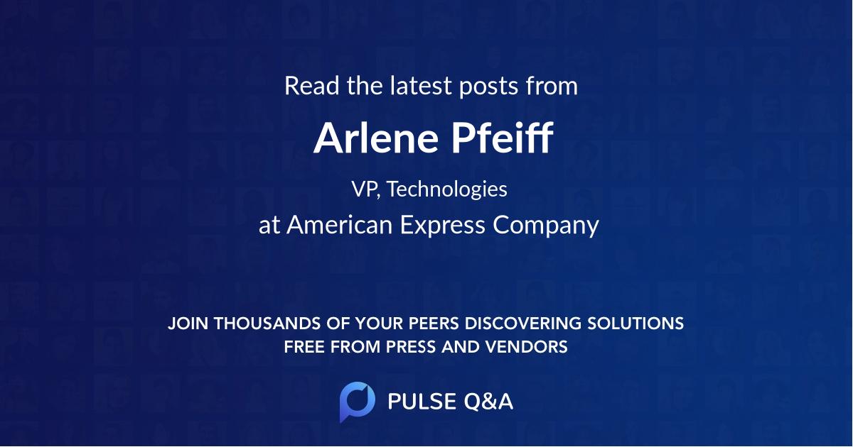 Arlene Pfeiff