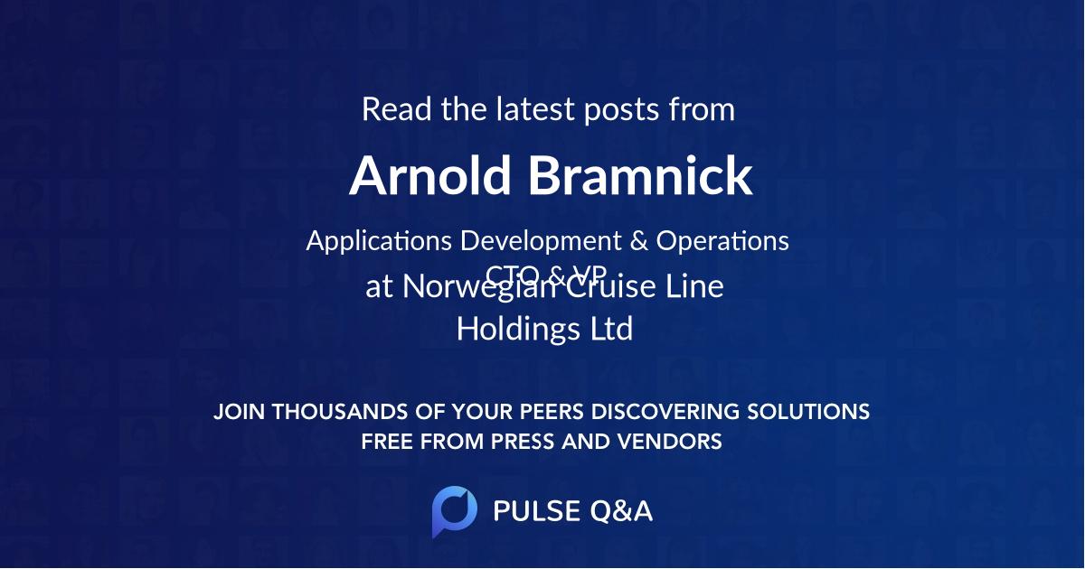 Arnold Bramnick
