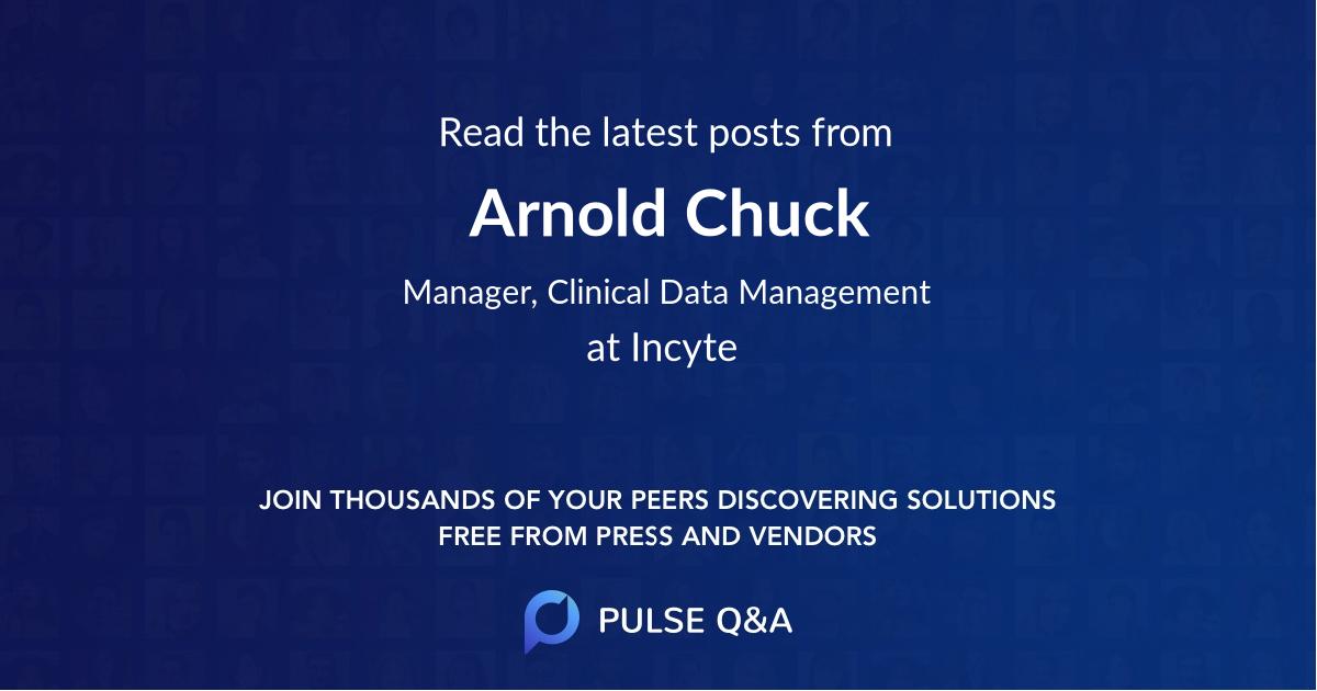 Arnold Chuck