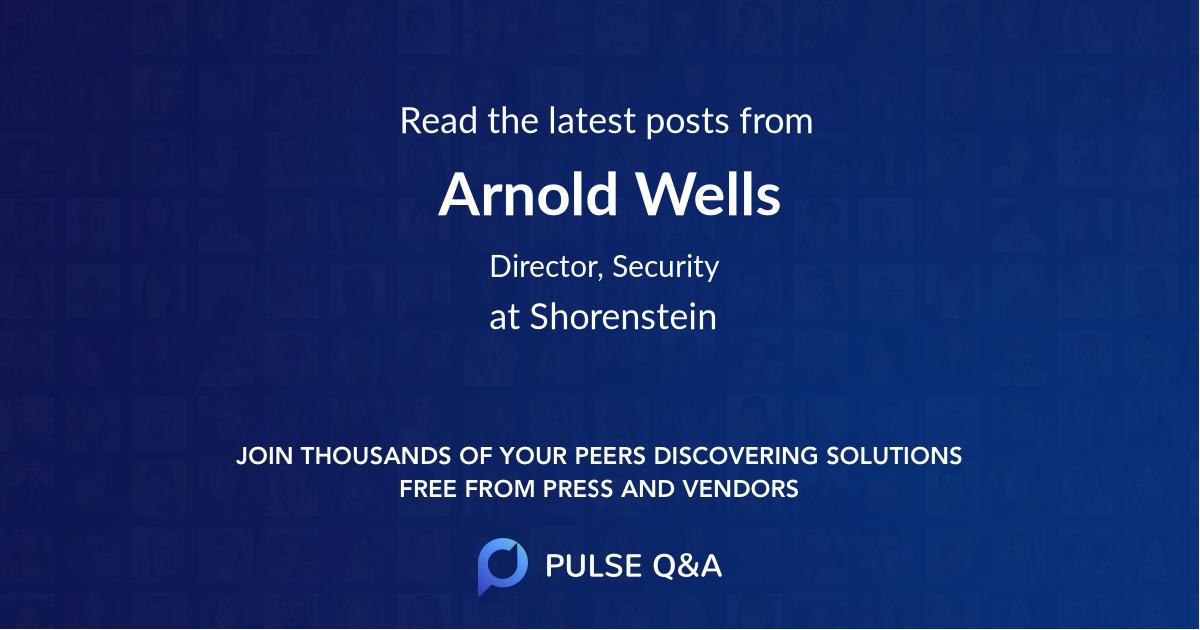 Arnold Wells