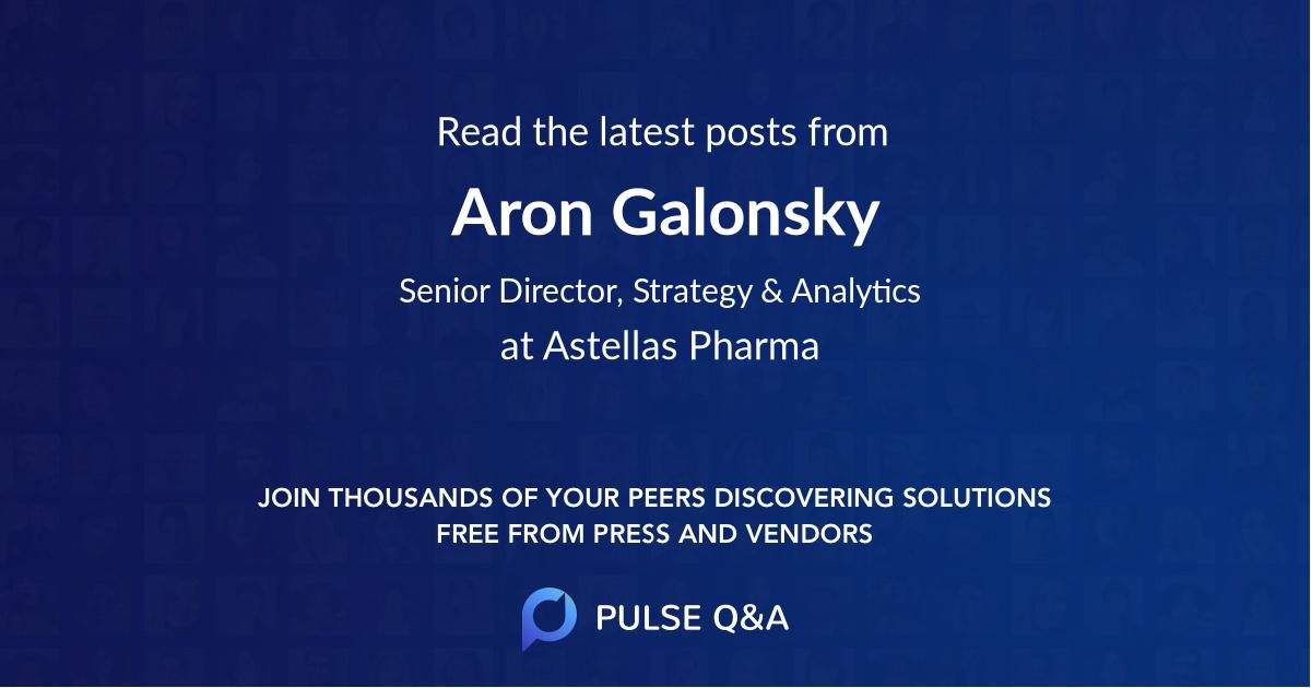 Aron Galonsky