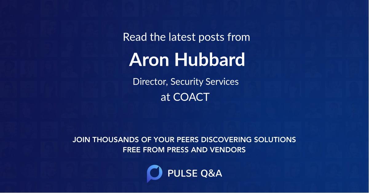 Aron Hubbard