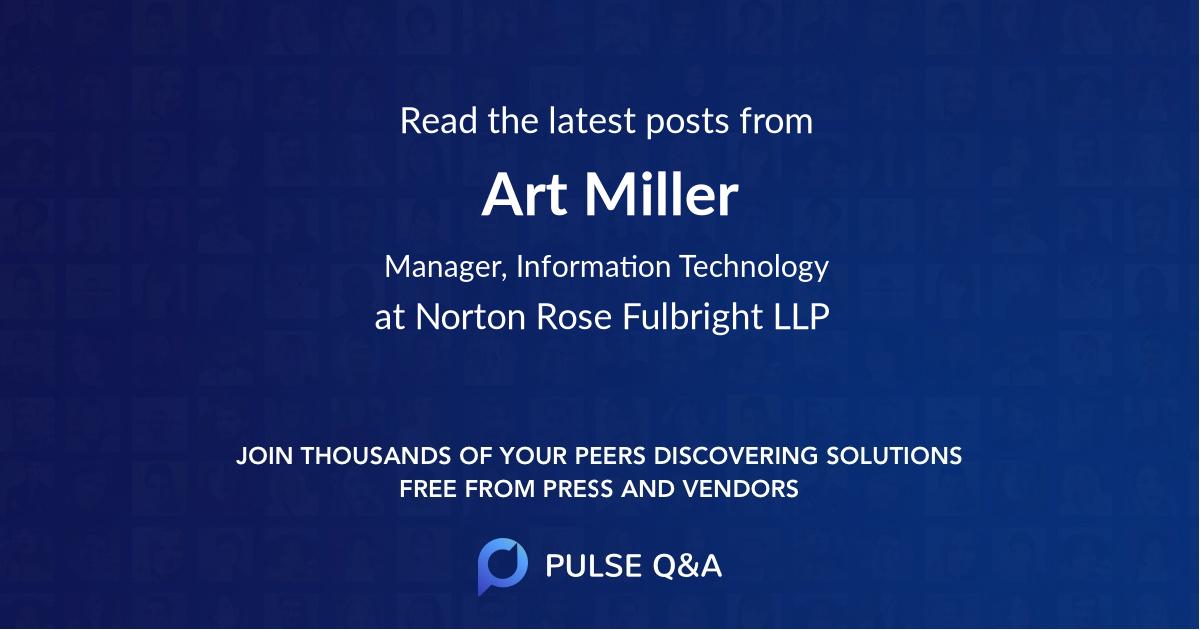 Art Miller