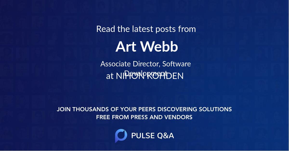 Art Webb