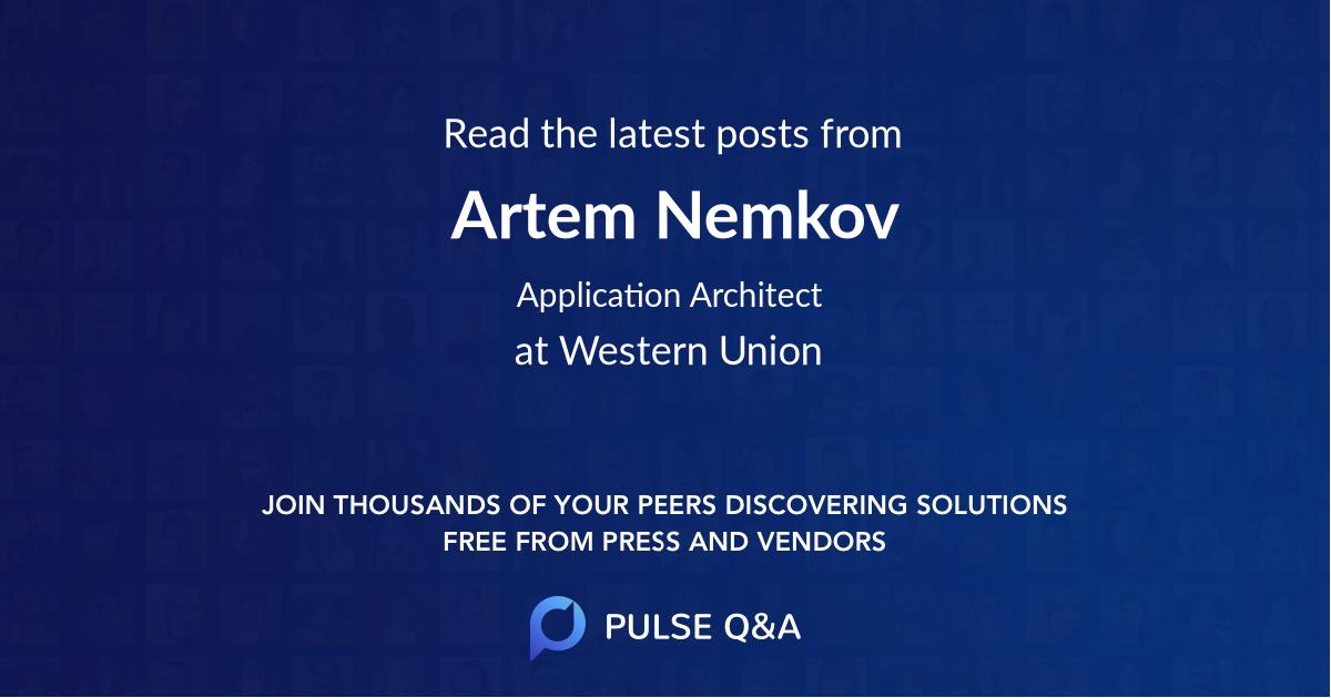Artem Nemkov