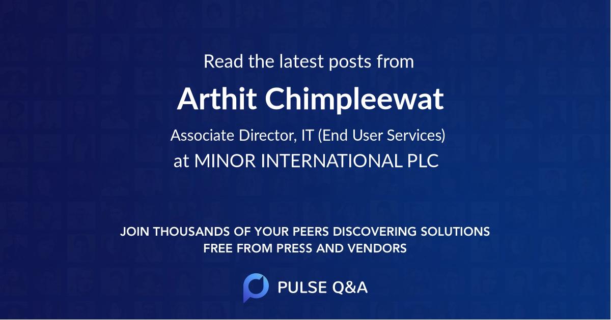 Arthit Chimpleewat
