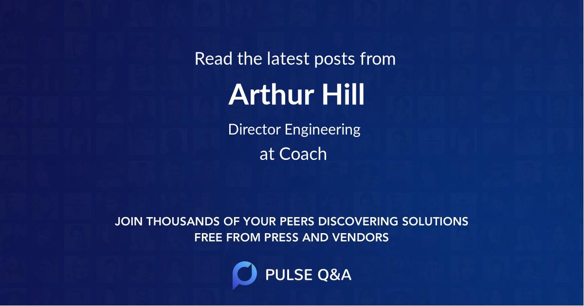 Arthur Hill