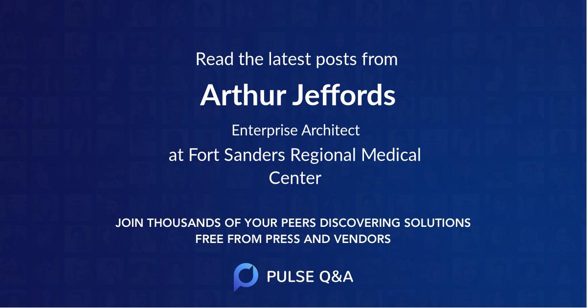 Arthur Jeffords