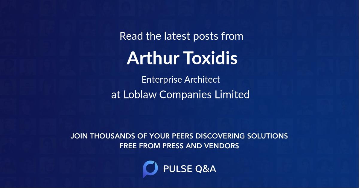 Arthur Toxidis