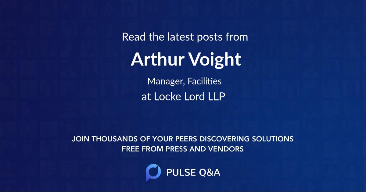 Arthur Voight