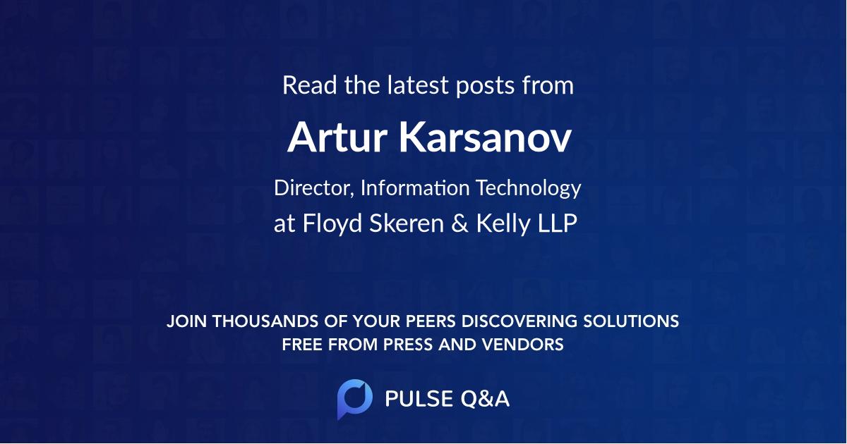 Artur Karsanov