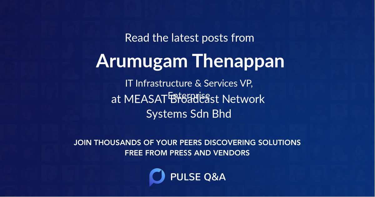 Arumugam Thenappan