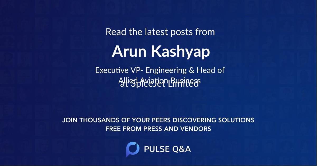 Arun Kashyap
