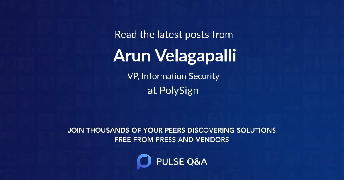 Arun Velagapalli