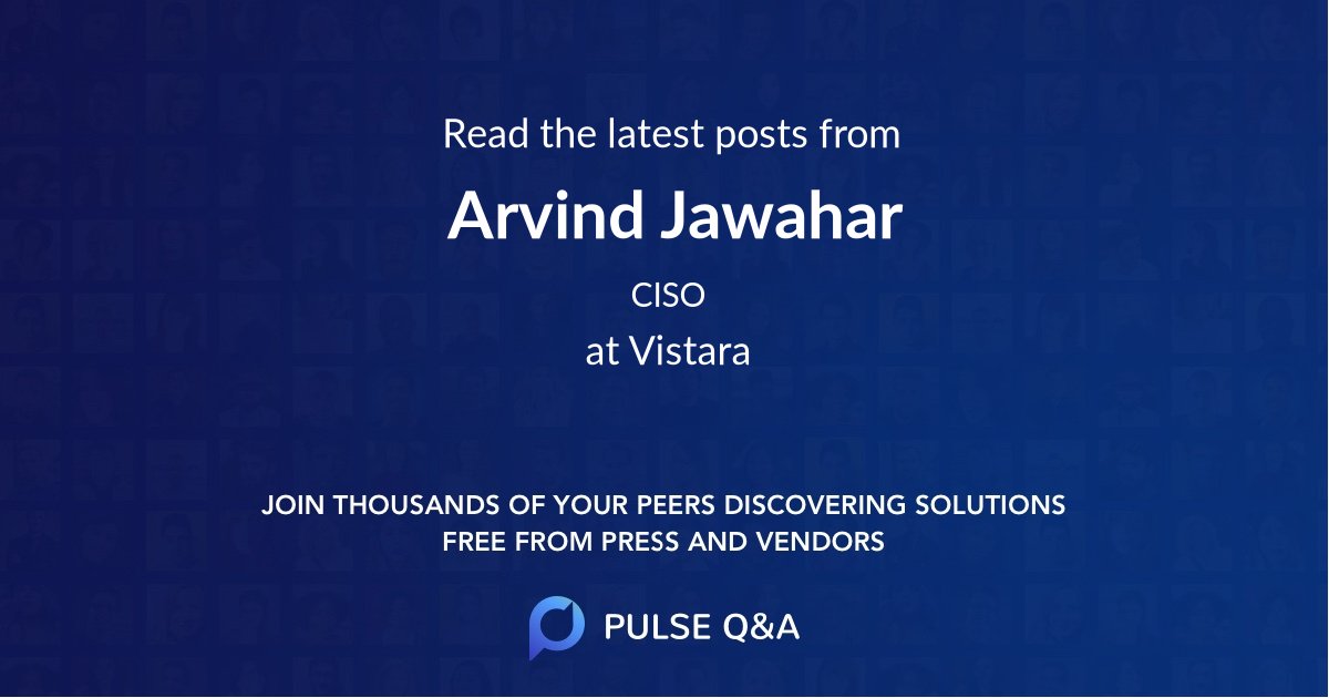 Arvind Jawahar