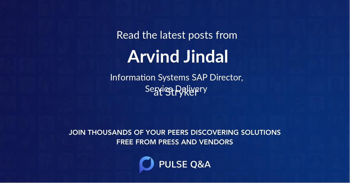 Arvind Jindal