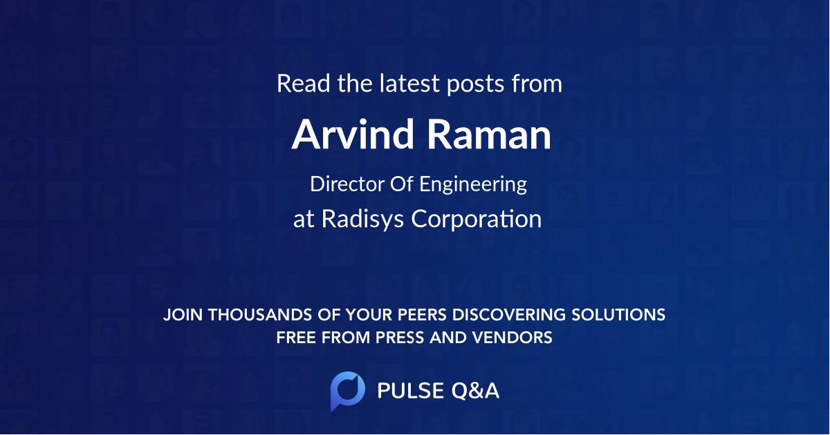Arvind Raman
