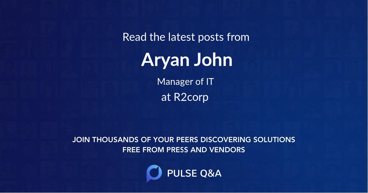 Aryan John