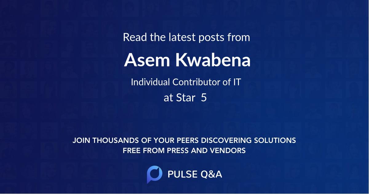 Asem Kwabena