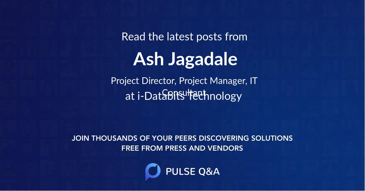 Ash Jagadale
