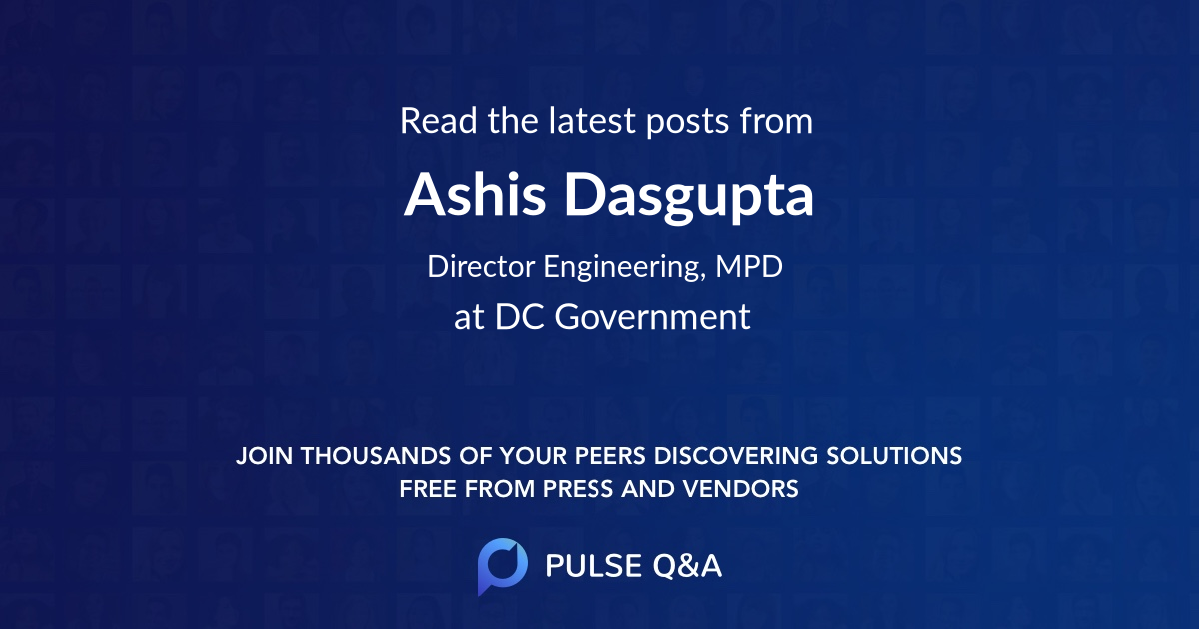 Ashis Dasgupta