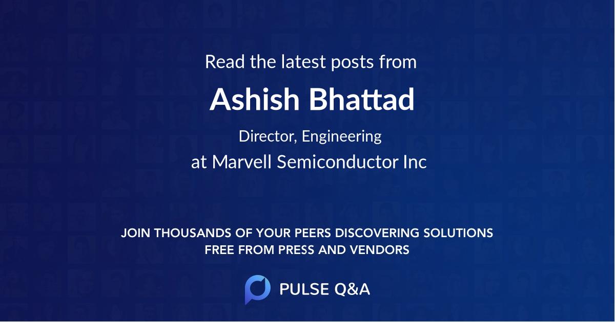 Ashish Bhattad