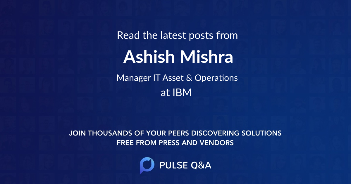 Ashish Mishra