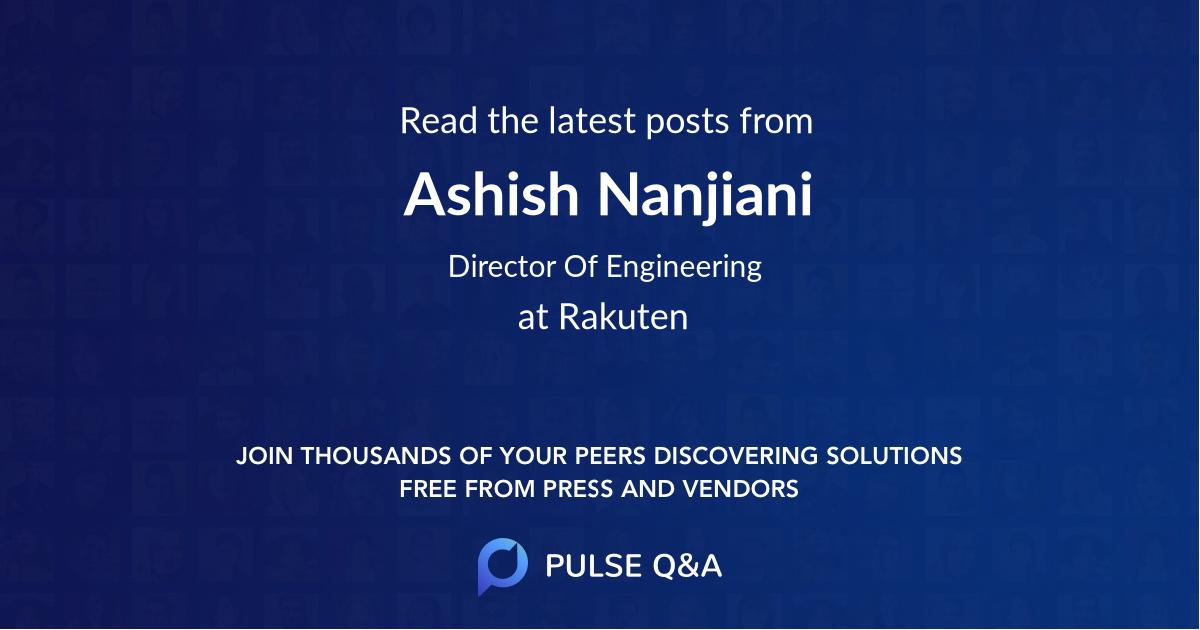 Ashish Nanjiani