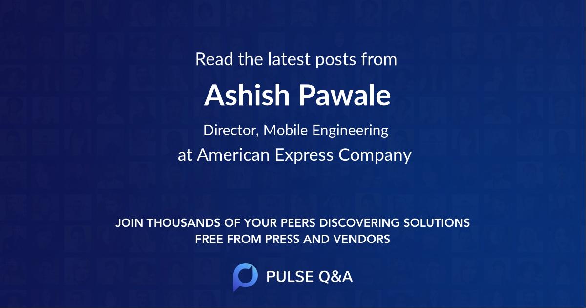 Ashish Pawale