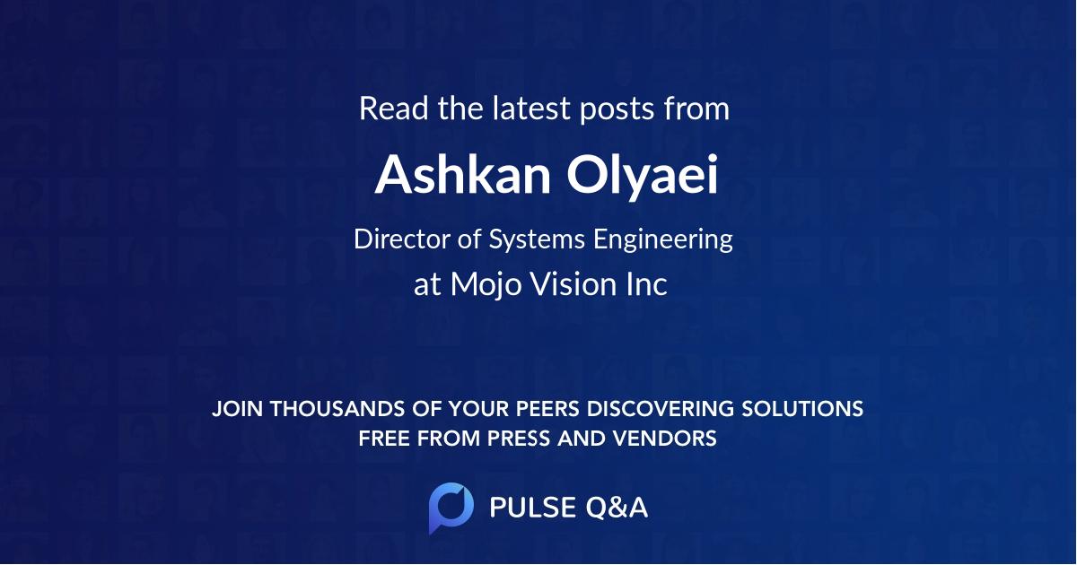 Ashkan Olyaei