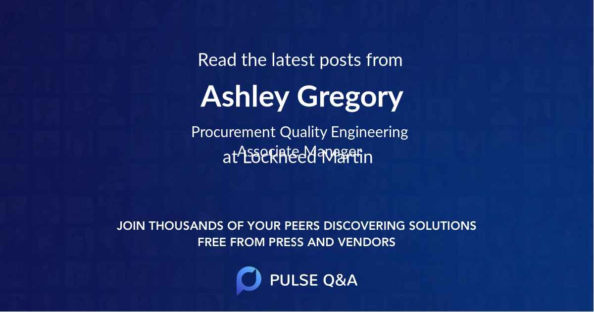 Ashley Gregory