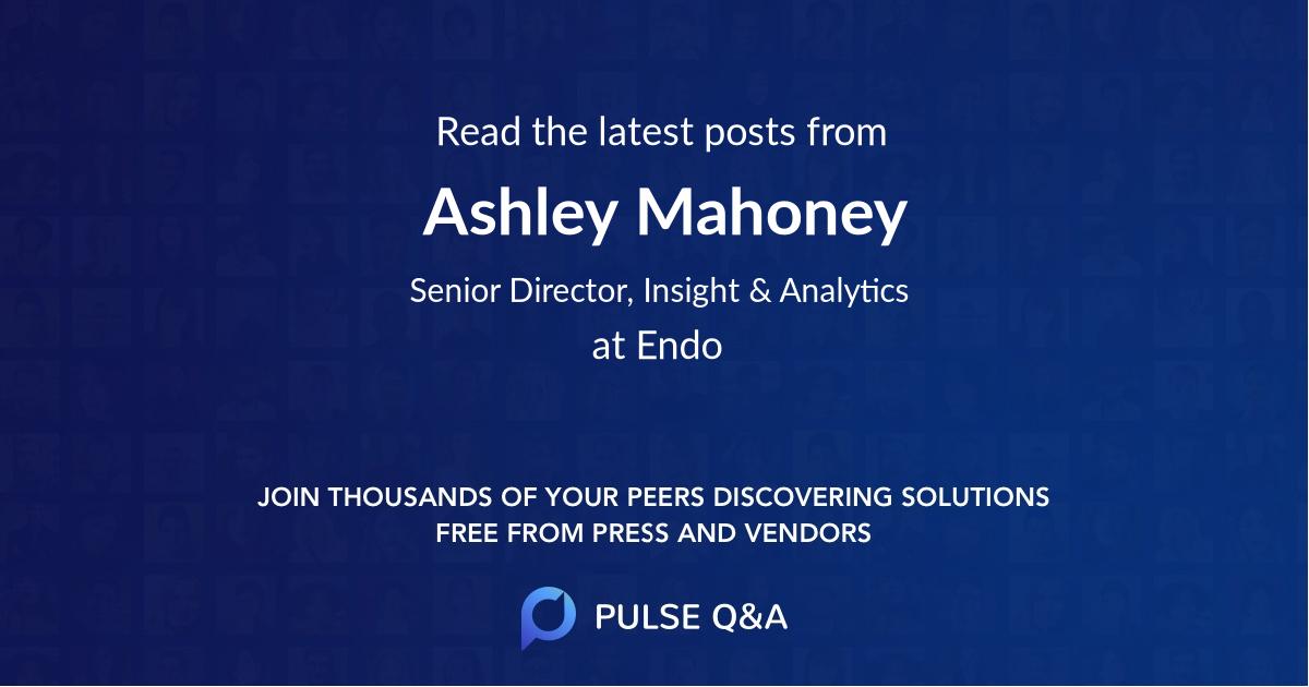 Ashley Mahoney