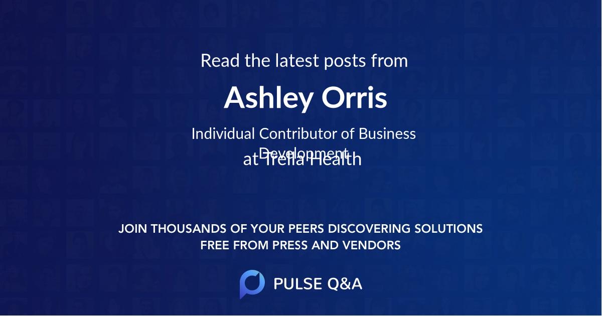 Ashley Orris
