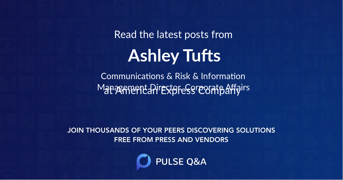 Ashley Tufts