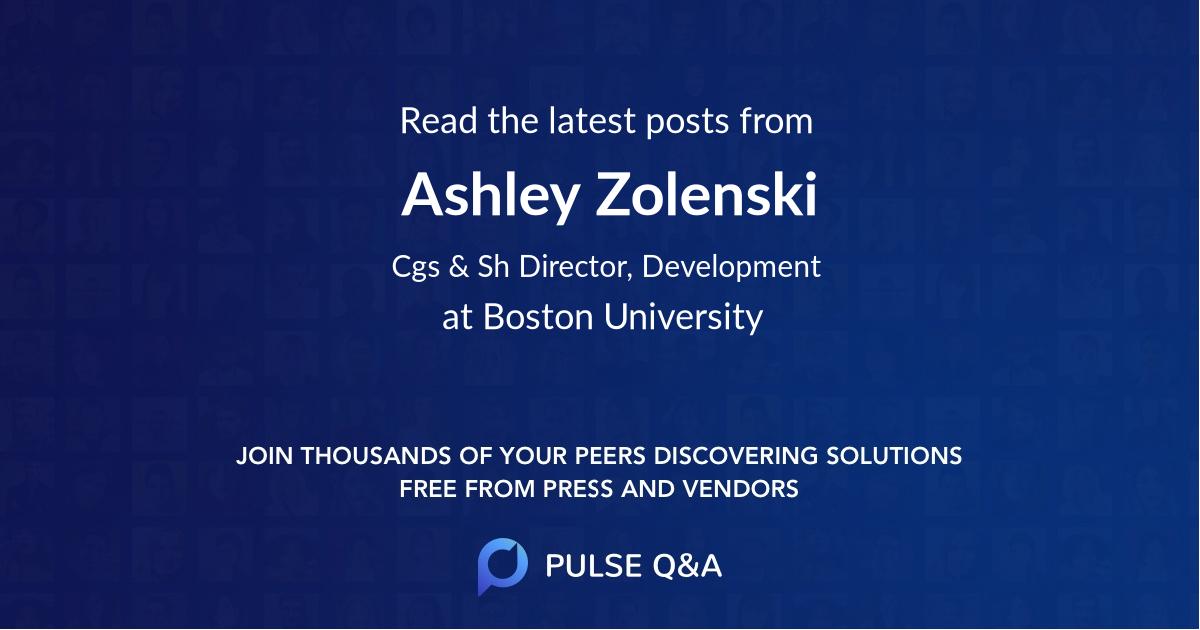 Ashley Zolenski