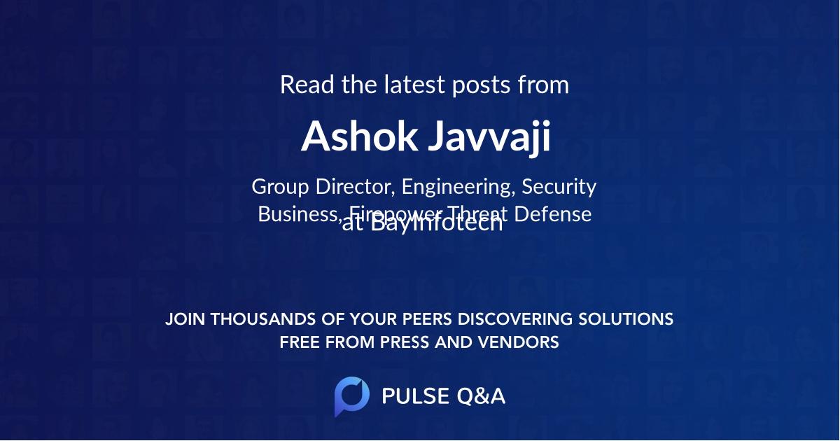 Ashok Javvaji