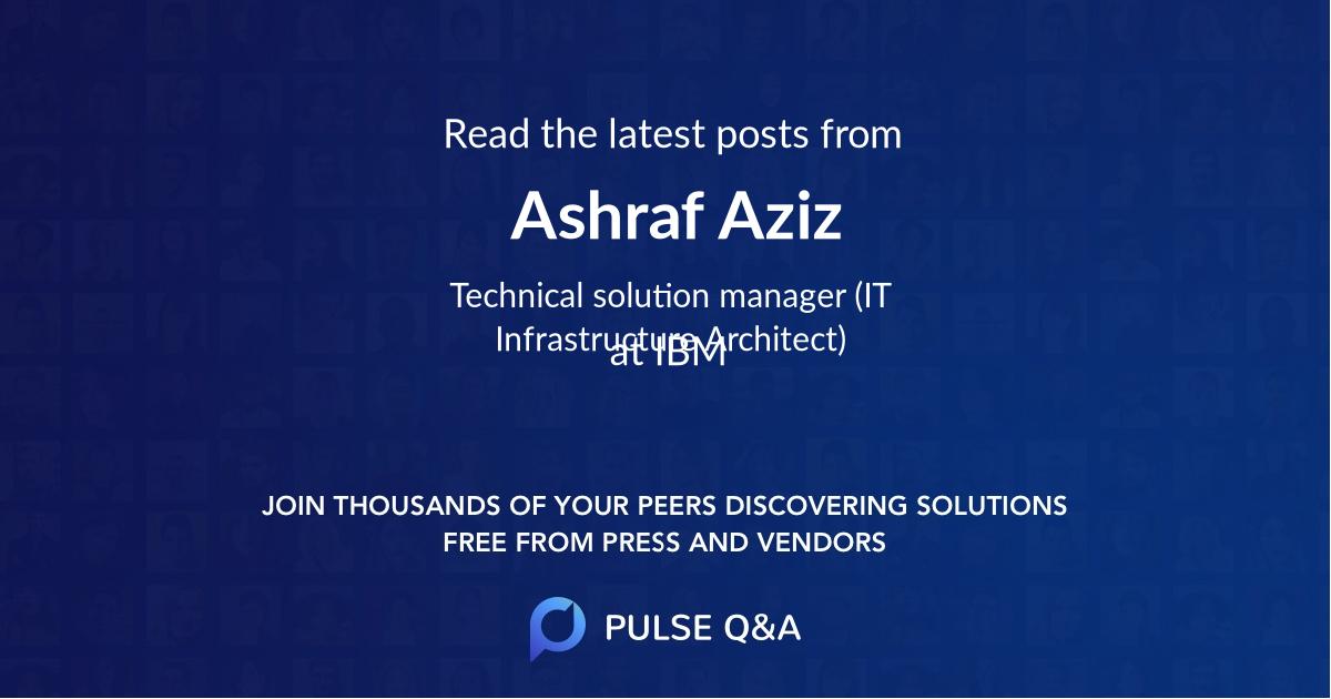 Ashraf Aziz